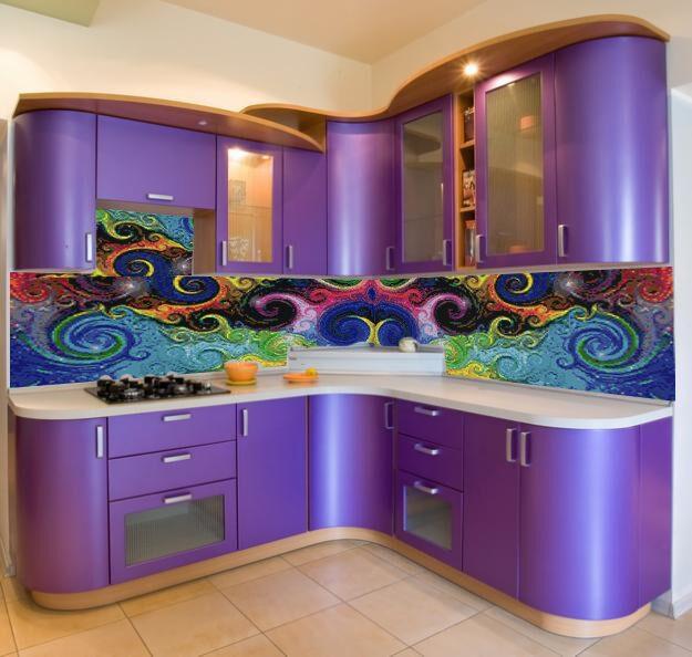 Кухня кухонный фартук панно м1196