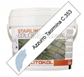 LITOCHROM  STARLIKE® COLOR CRYSTAL C.353 (AZURRO TAORMINA) 2,5 кг.